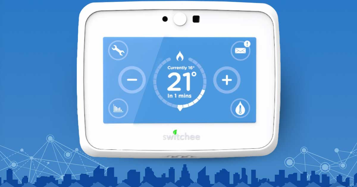 Smart heating control company uses secure mobile communications